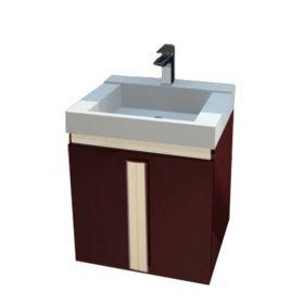 PVC шкаф с мивка Nuvola 2D