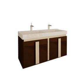 Двоен шкаф за баня Nuvola