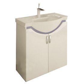 PVC шкаф с мивка Aura