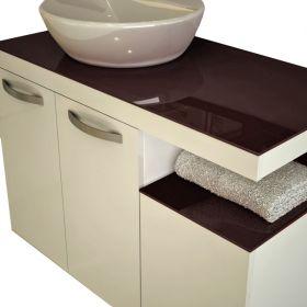 PVC шкаф с мивка Testa