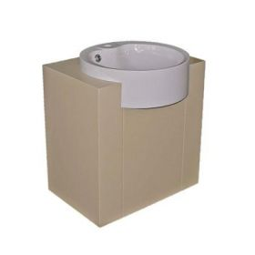 PVC шкаф с мивка Gamma