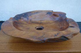 Дървен мивка за баня Luna