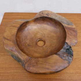 Дървена мивка за баня Luna