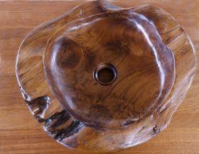 Wooden Washbasin Luna