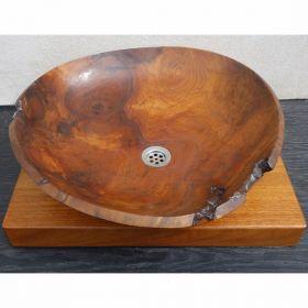 Wooden Washbasin Bean