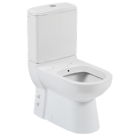 Bella 62 Close Coupled Toilet With Integrated Bidet