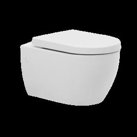 Окачена тоалетна City с вградено биде