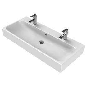 Мивка за баня Pinto 100 с 2 отвора