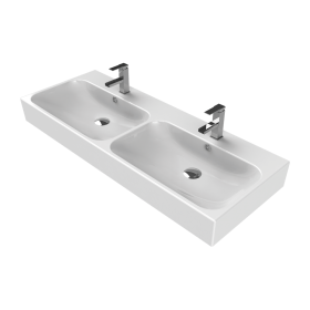 Pinto 120 Double Washbasin