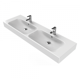 Pinto 150 Double Washbasin