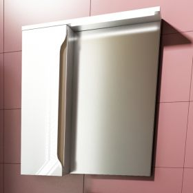 Шкаф за баня с огледало Carre 50