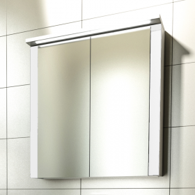 Шкаф за баня с огледало Pure 55|65
