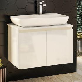 Шкаф за баня Nove 70 с вратички