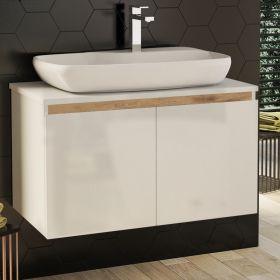 Шкаф за баня Nove 80 с вратички