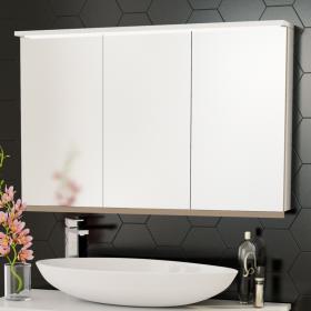 Шкаф за баня с огледало Trio 100