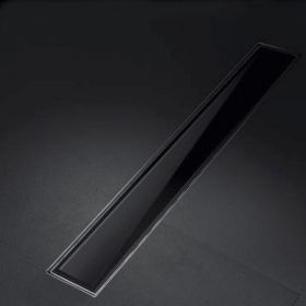 Linear Bathroom Drain Glass Line